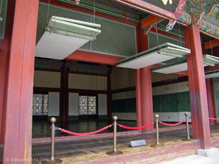 Traditional Korean Palace doors