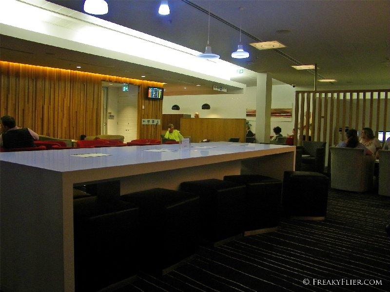 Work Area at The QantasClub Gold Coast