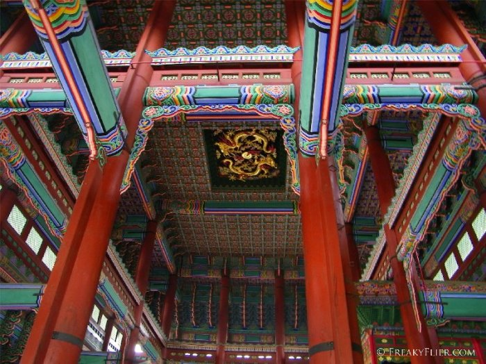 Ceiling of the throne hall