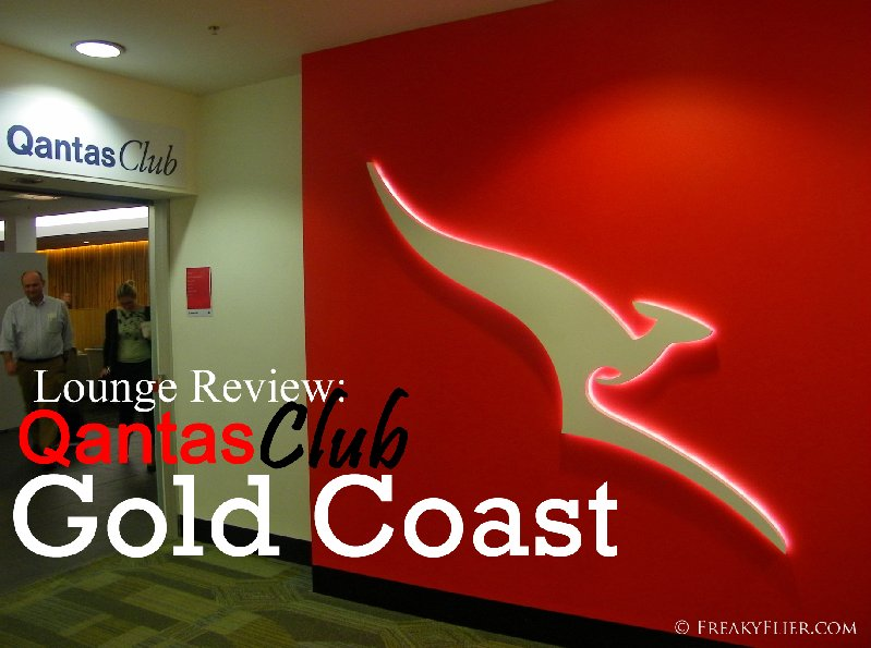 Lounge Review: QantasClub, Gold Coast