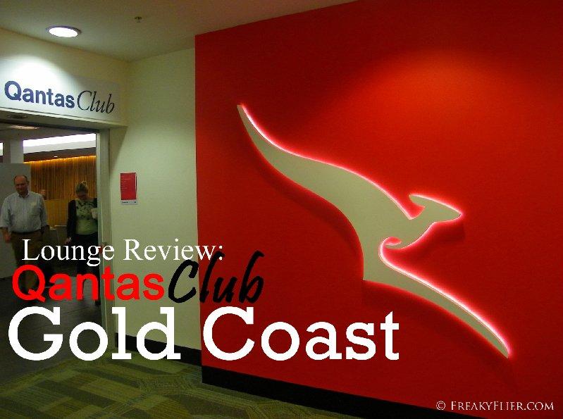 Lounge Review: QantasClub, Gold Coast