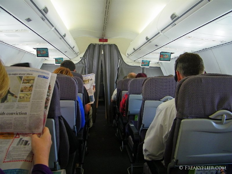The view from my Economy Class seat