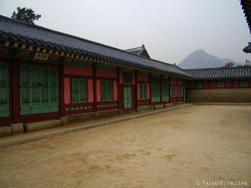 Living quarters of the royal family
