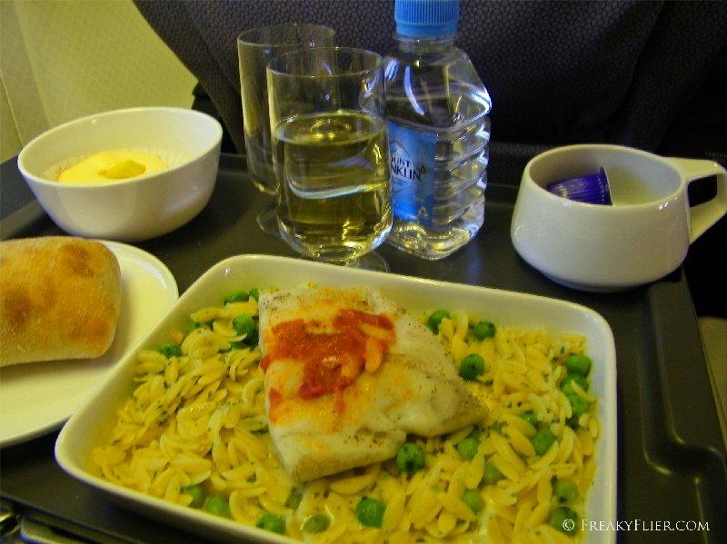 Dinner - Barramundi with Risoni
