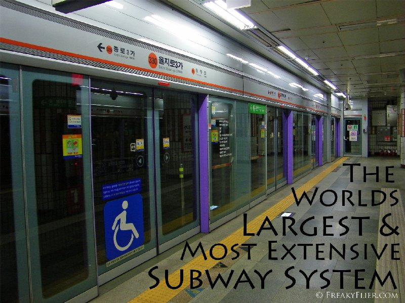 The Worlds Largest And Most Extensive Subway System