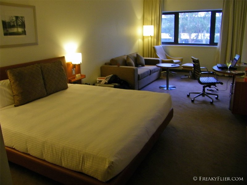 Room 111 at the Novotel Canberra