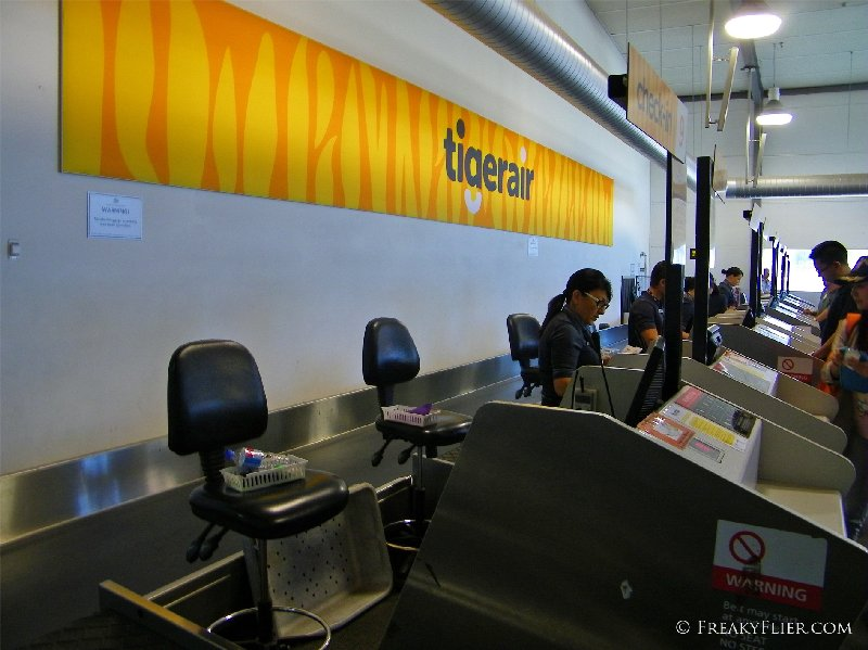 Tigerair check-in at T4 - Tullamarine Airport