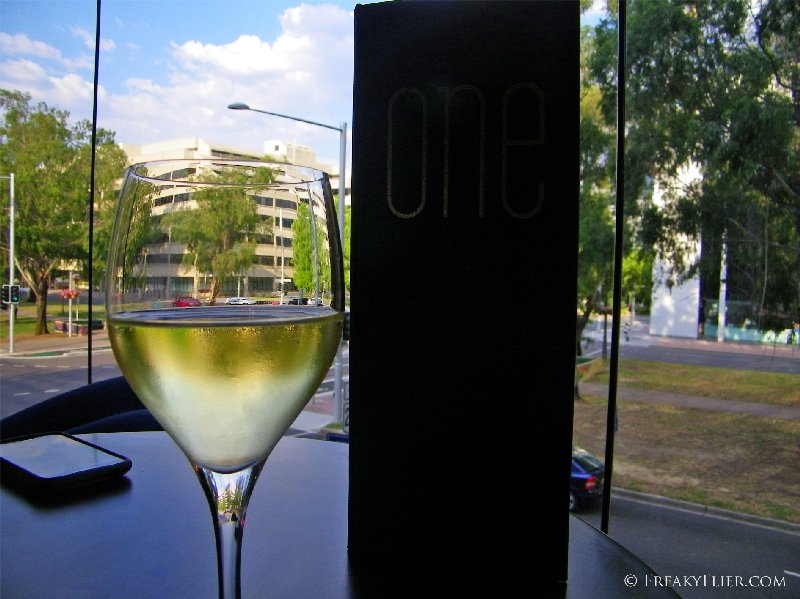 Drinks in ONE bar at the Canberra Novotel