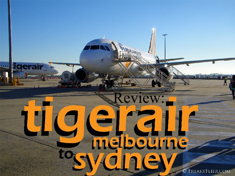 Review: Tigerair Melbourne to Sydney