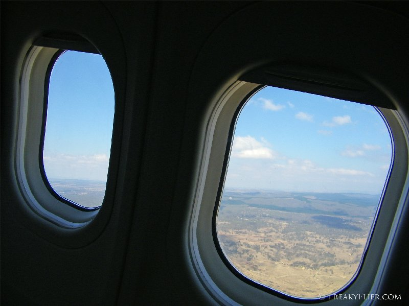 Departure from Canberra on QantasLinks Boeing 717