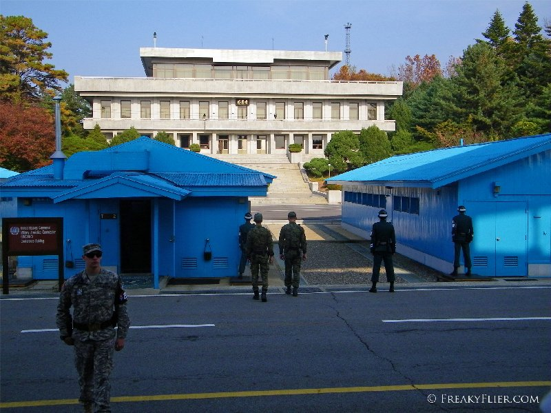 Joint Security Area on the south side