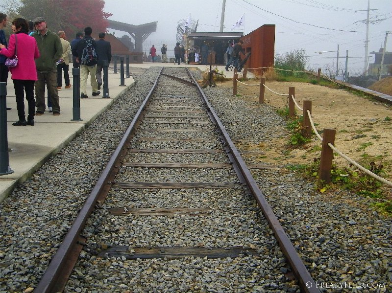 Railway at Imjingak, once leading to the north