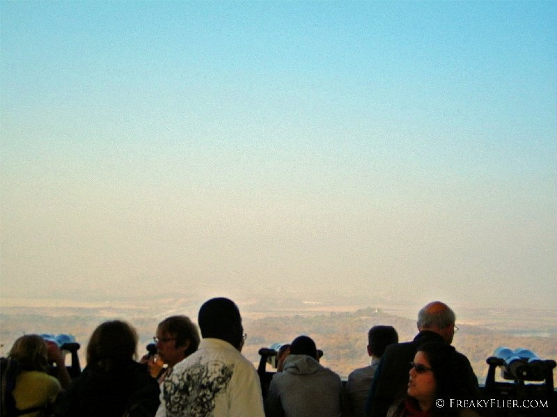 Viewing the North from the Dora Observatory