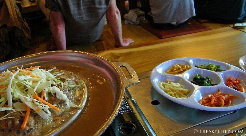 Lunch - Bulgogi and Kimchi
