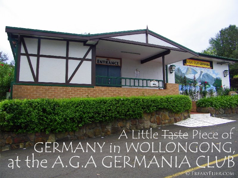 A Little Taste Piece of GERMANY in WOLLONGONG at the A.G.A GERMANIA Club