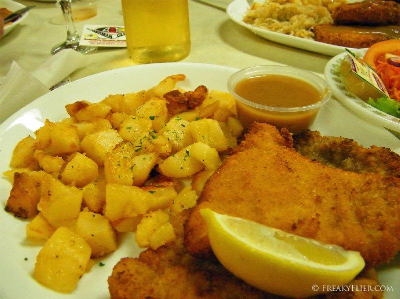 Mixed Schnitzel Platter $21.50