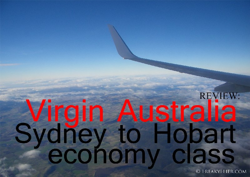 REVIEW: Virgin Australia SYdney to Hobart Economy Class