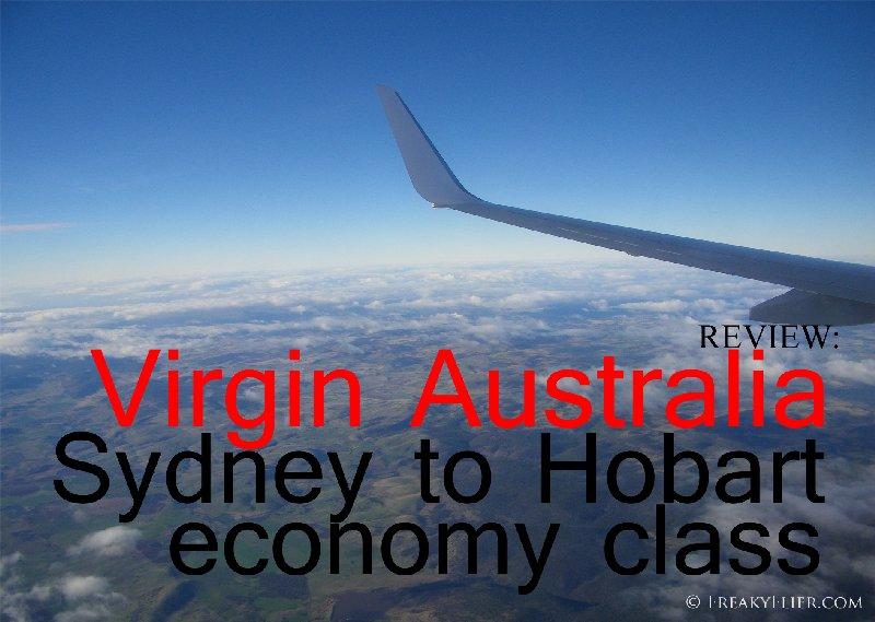 REVIEW: Virgin Australia SYdney to Hobart Economy Class