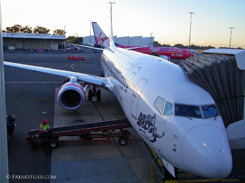 Virgin Australia flight VA1528. Boeing 737-800 VH-YIT