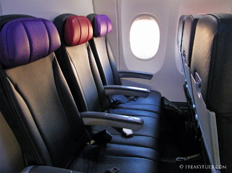 Row 30 on Virgin Australia's Boeing 737-800 VH-YIT