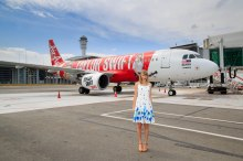 Air Asia a320 and Taylor Swift