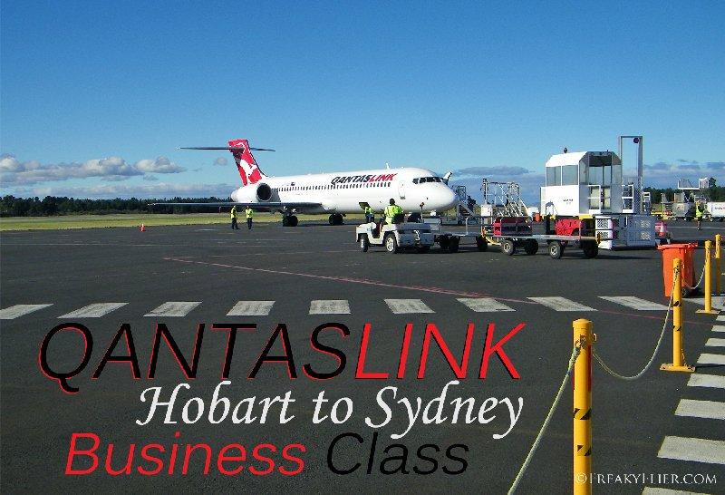QANTASLINK Hobart to Sydney Business Class