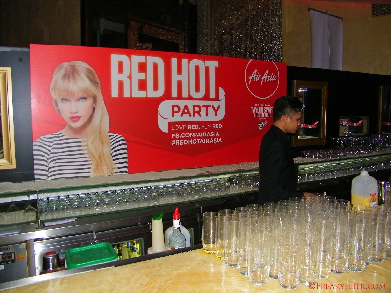 RED HOT Party at the Mandarin Oriental, Kuala Lumpur