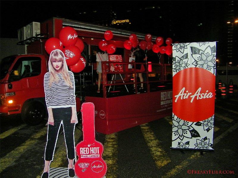 Karaoke van outside the Mandarin Oriental