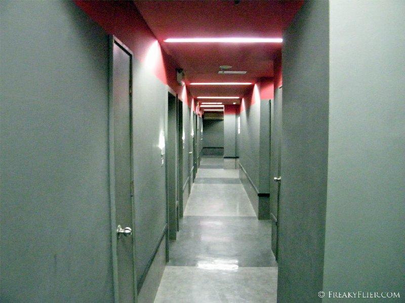 Hallway of the Tune Hotel Downtown Kuala Lumpur