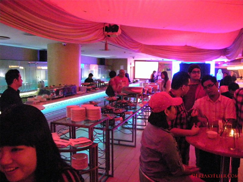 Sultan Lounge decked out for the RED HOT Party