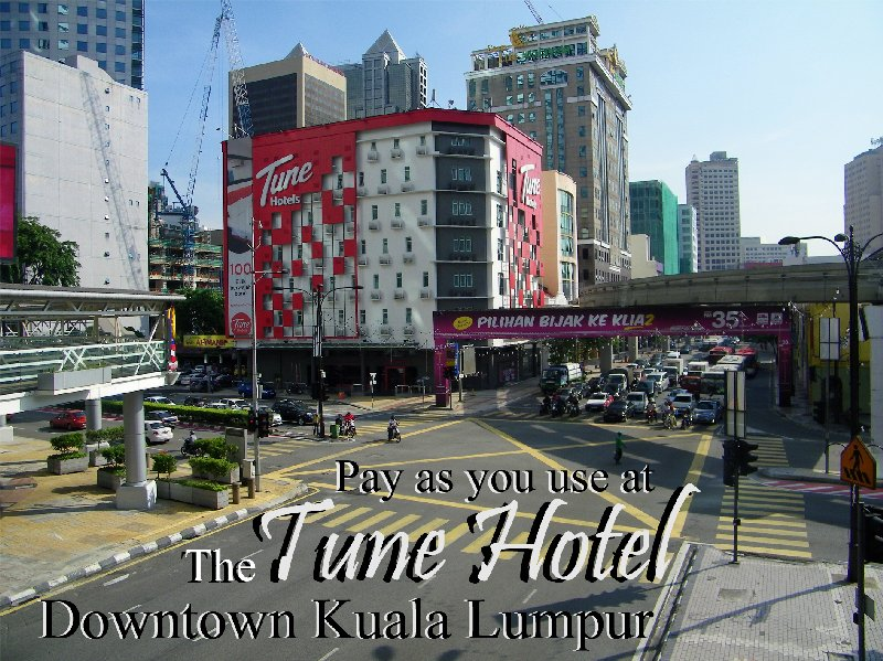 Pay As You Use At The Tune Hotel - Downtown Kuala Lumpur