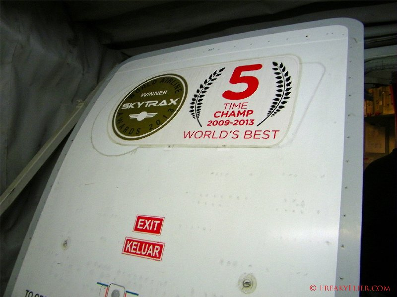 5 times Skytrax winner for best low cost airline