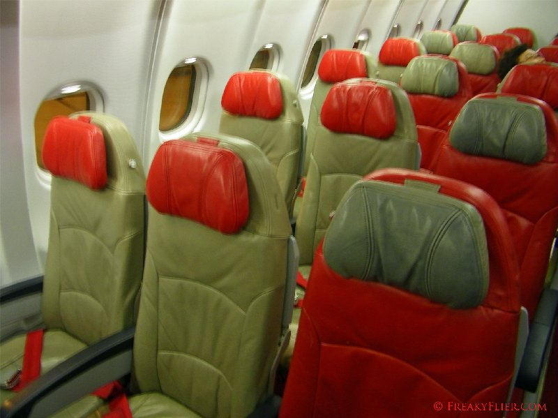 Seats on board Air Asia X Airbus a330-300