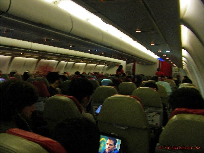 Air Asia X Sydney to Kuala Lumpur Airbus a330-300