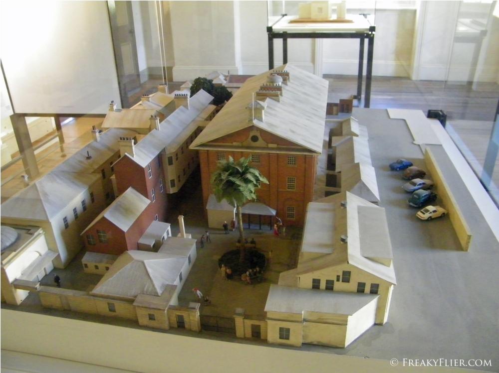 Model of the Barracks