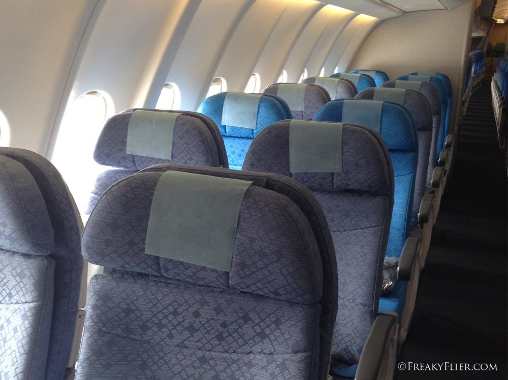 Economy Class on Cathay Pacific Airbus A330-300