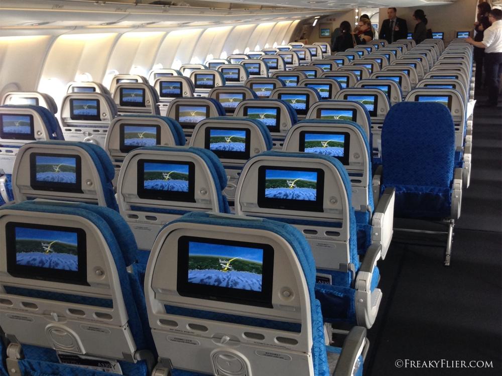 Economy Class Seat Back Entertainment