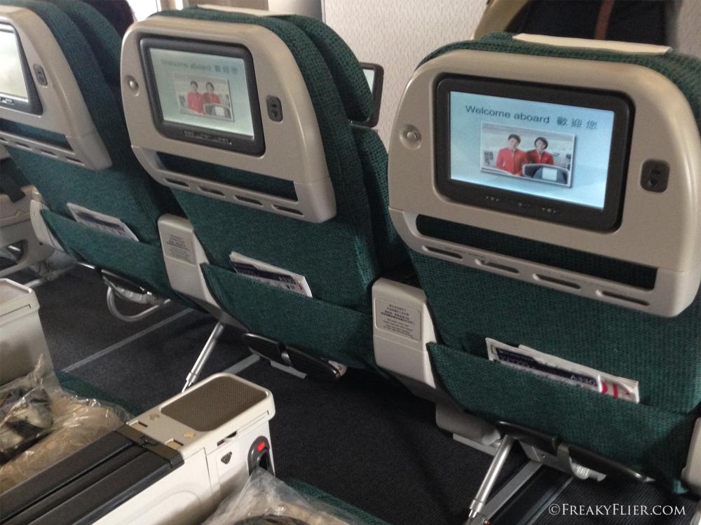 Premium Economy Seat back Entertainment