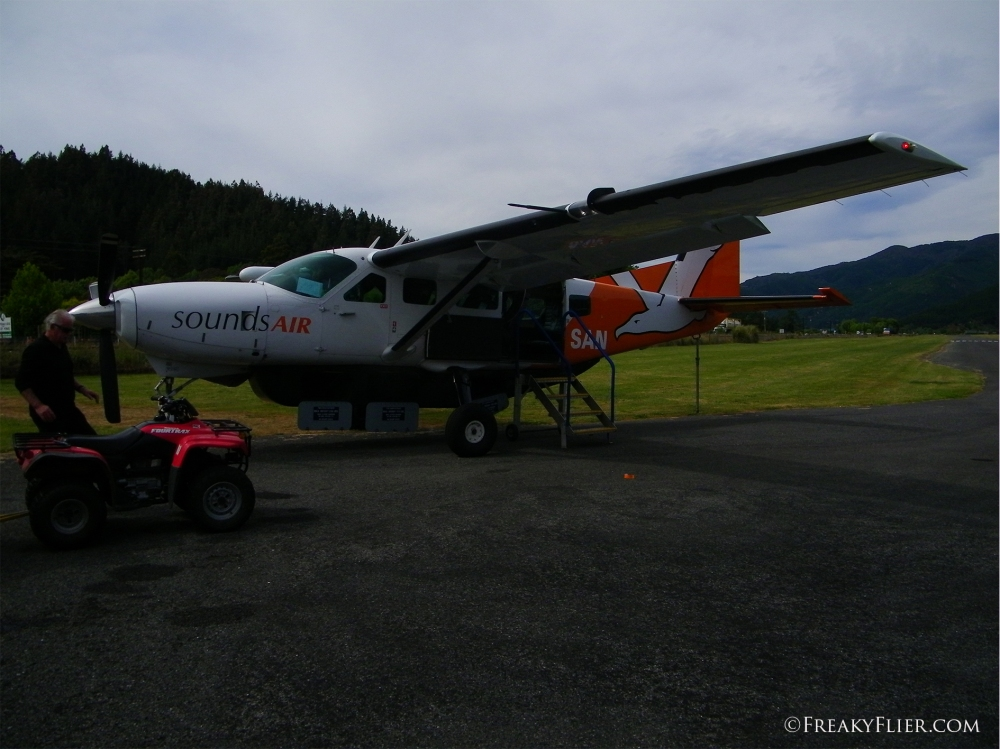 Soundsair Cessna 208 Caravan at Picton Aerorome
