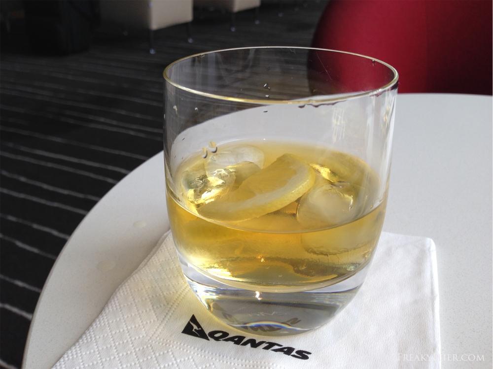 Grants scotch on ice