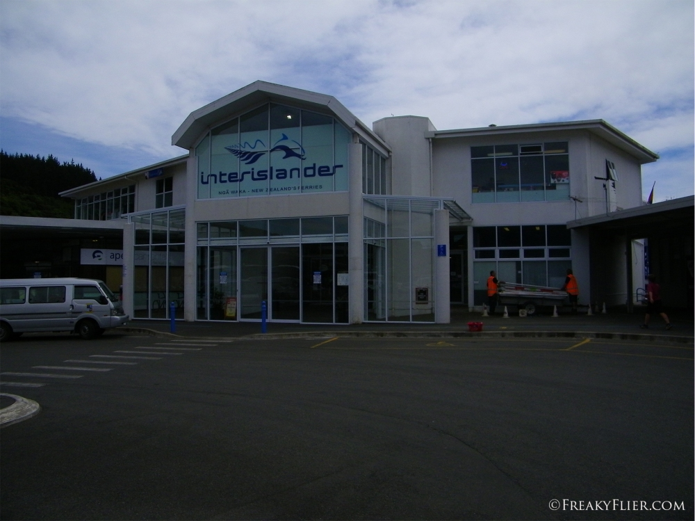 Interislander Check in Office