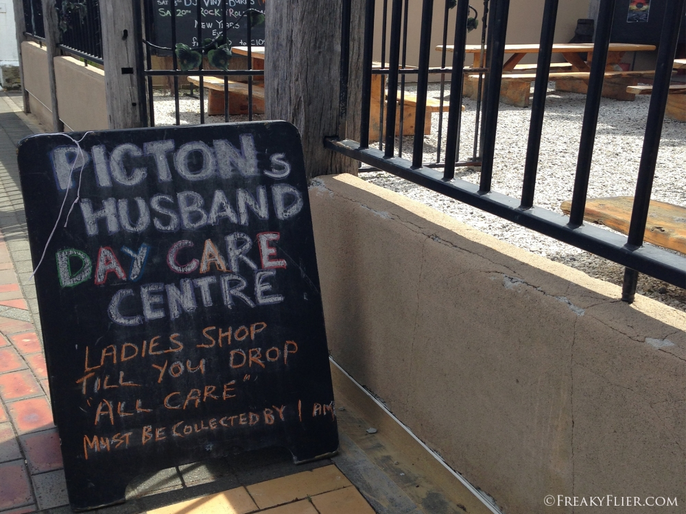 Picton Pub - aka Husband day care centre