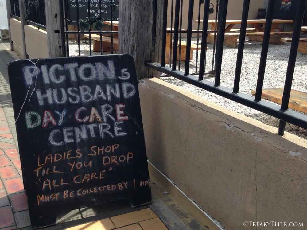 Picton Pub - aka Husband day care centre