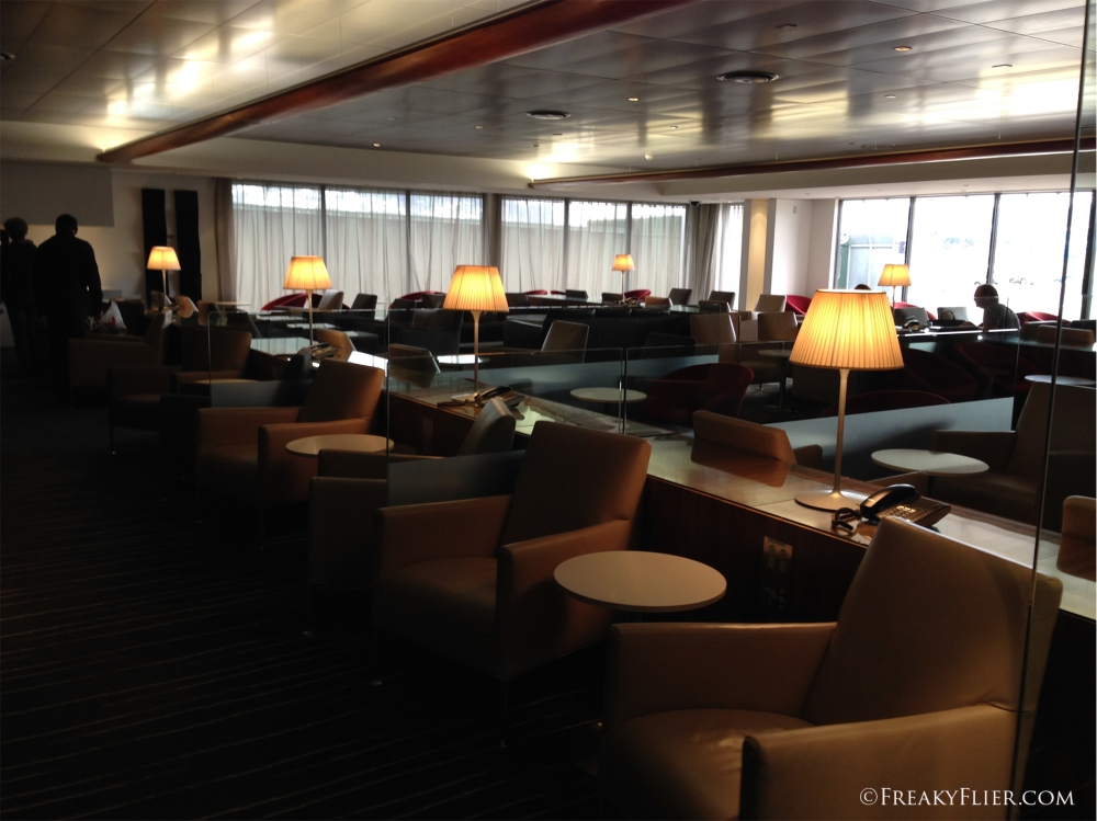 Seating for plenty at The QantasClub WellingtonSeating for plenty at The QantasClub Wellington
