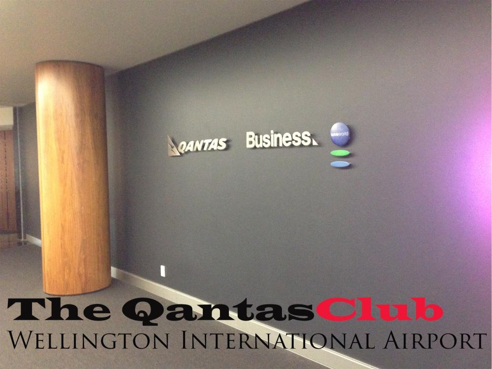 The QantasClub Wellington International Airport