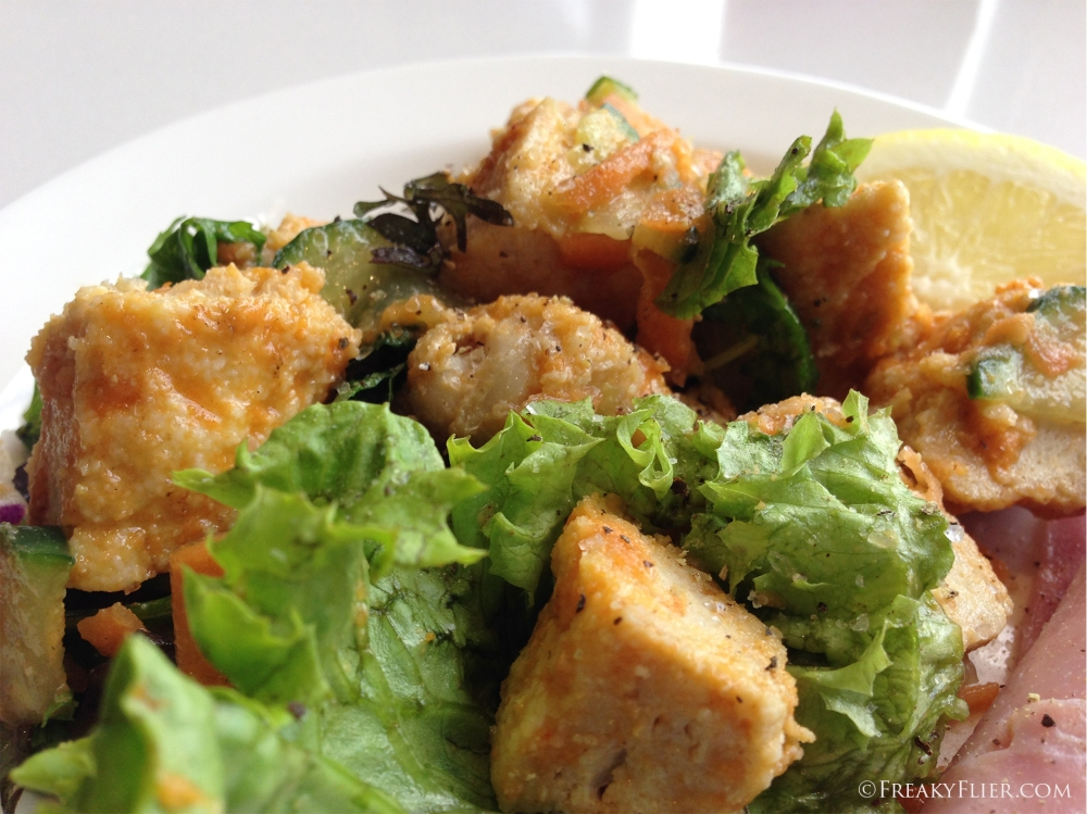 The succulant Flame Grilled Chicken Salad