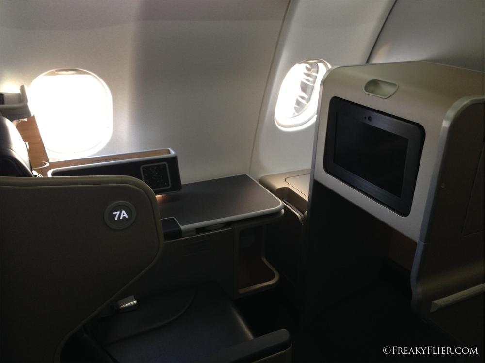 Suite 7A on QANTAS A330-200 VH-EBA