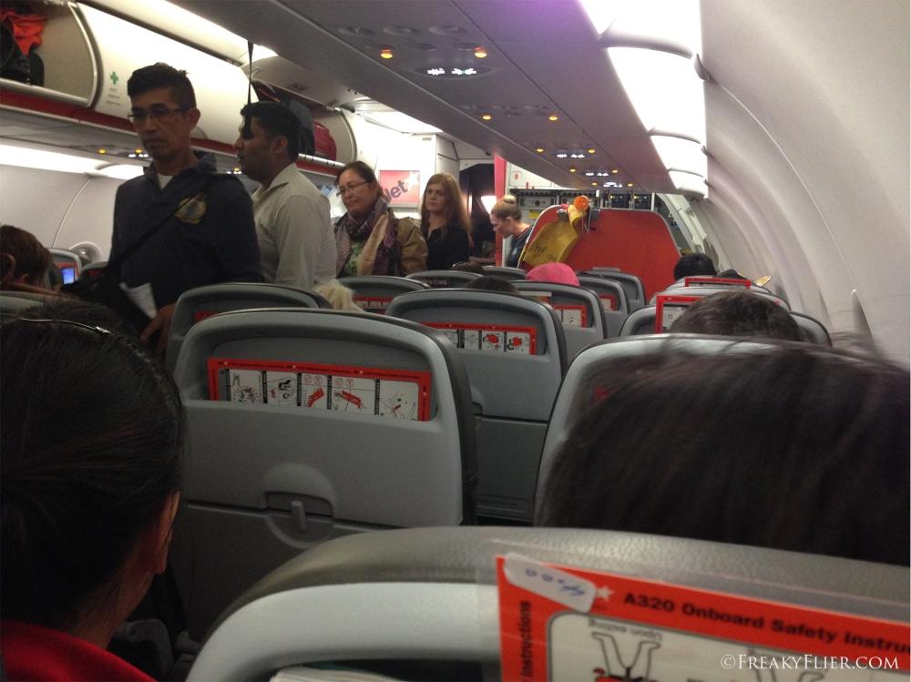 Boarding Jetstar Airways bound for Sydney