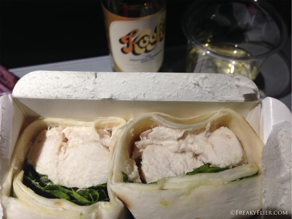 Gourmet Chicken Ceaser Wrap - AU$8.00