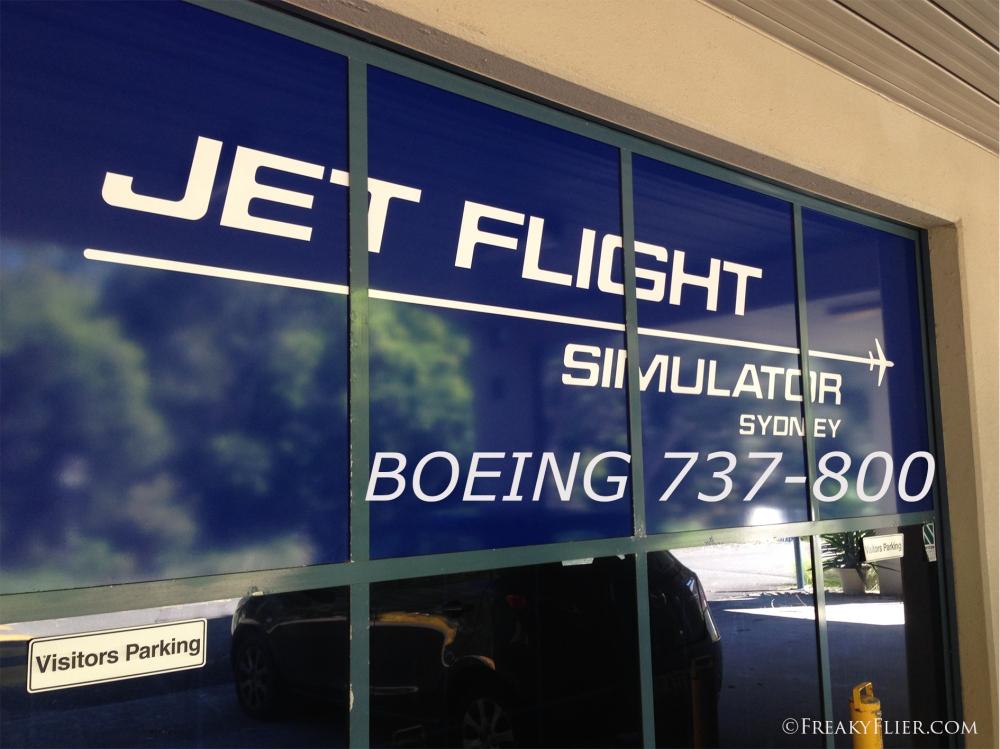 Jet Flight Simulator Sydney - Boeing 737-800